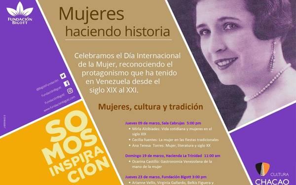 Mujeres que hacen historia