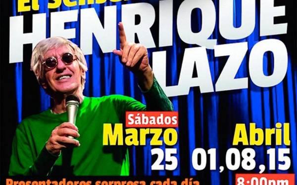 El Sensei Henrique Lazo en La Quinta Bar