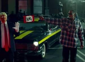 Snoop Dogg arma a un Trump payaso en su nuevo video