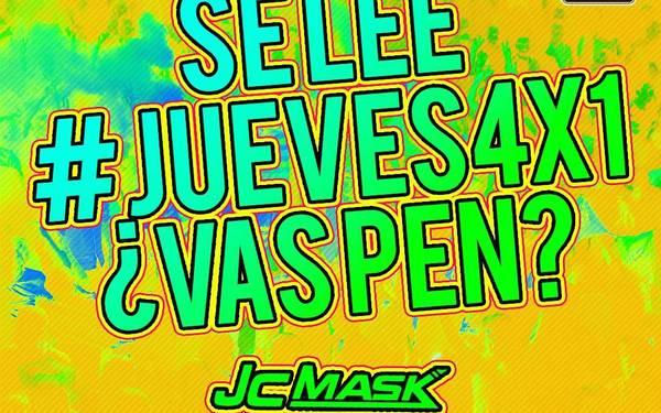 SE LEE #JUEVES4X1 en Rosalinda