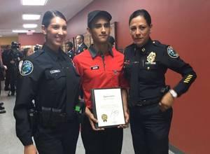 Este héroe venezolano salvó la vida de una oficial de policía en Miami