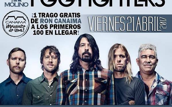 Tributo a FOOFIGHTERS  con Pinkman banda
