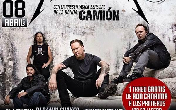Tributo #METALLICA, por la banda #CAMIÓN