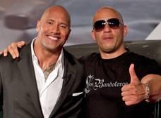 The Rock y Vin Diesel arreglan diferencias y estarán en 'Rápidos y Furiosos 9'