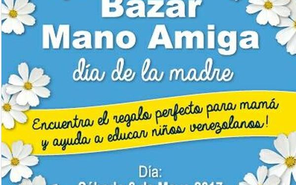 Twitter: @bazarmanoamiga Bazar día de las madres