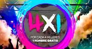 Promo 4 x 1 - Maroma Bar