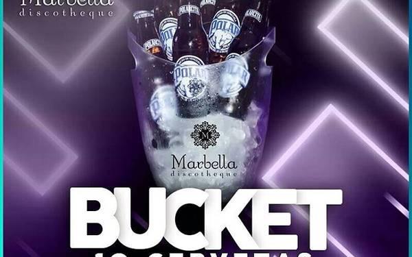 Super promoción en Bucket de Cervezas