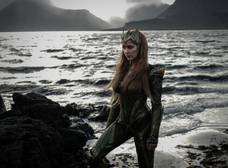 La sexy Amber Heard como Mera en The Justice League