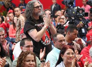 """Gillman y Maduro otra vez: ahora habrá un festival de rock contra el """"fascismo"""""""