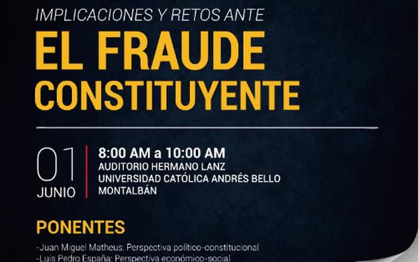 Charla: El fraude Constituyente
