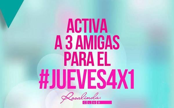 PROMO #JUEVES4X1 - Rosalinda