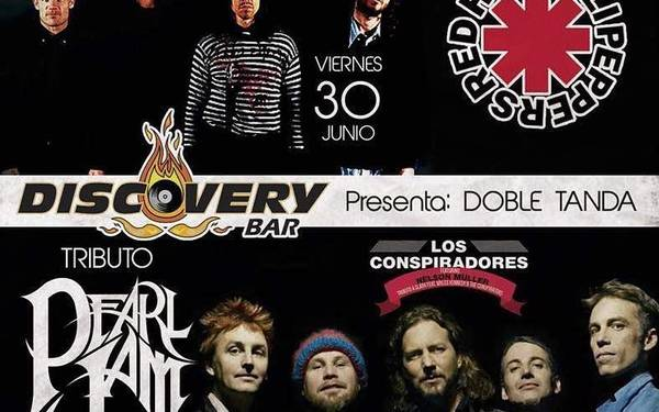 Doble tanta de tributos en Discovery bar