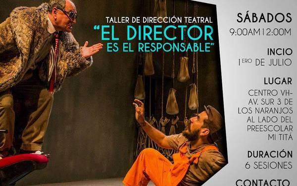 Taller gratuito de Dirección Teatral