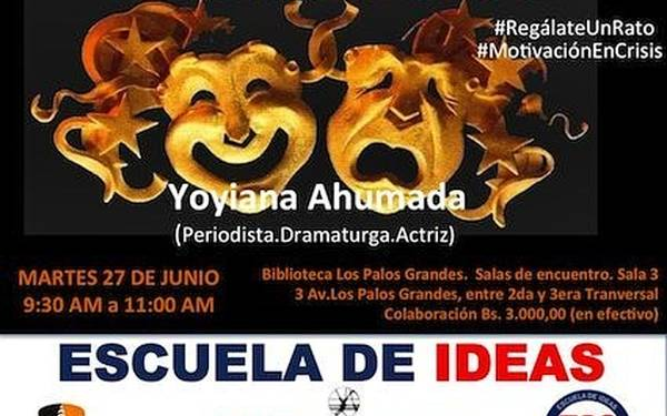 Yoyiana Ahumada ofrecerá charla de Escuela de Ideas