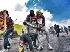 El tema donde nombran a los caídos de la resistencia