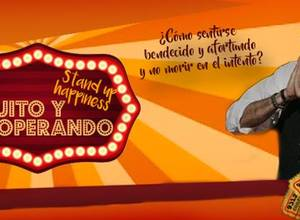 """STAND UP HAPPINESS DE RICHARD """"EL BUITRE"""" MOGOLLÓN"""