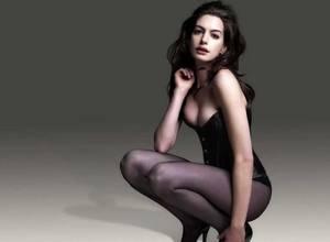 Se filtran fotos sexys de la actriz Anne Hathaway