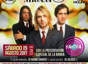 Tributo a Nirvana con Yantra Band.⠀