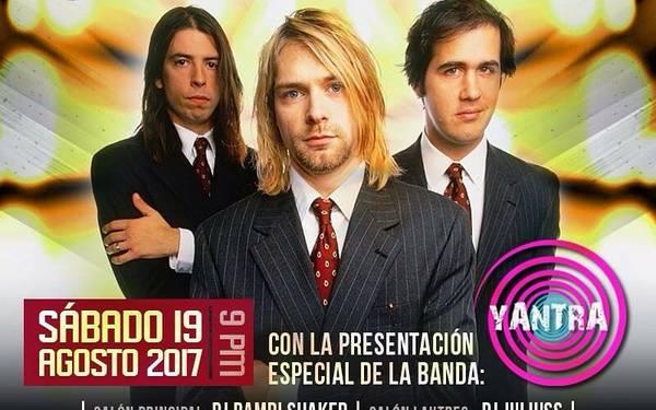 Tributo a Nirvana con Yantra Band.⠀