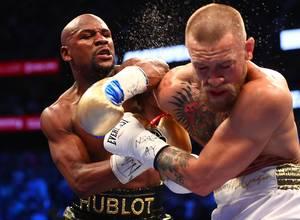 Mayweather se lució contra McGregor