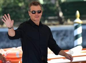 Mira las primeras imágenes de la próxima película de Matt Damon, Downsizing
