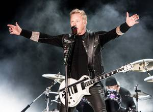 James Hetfield sufrió accidente durante un concierto de Metallica