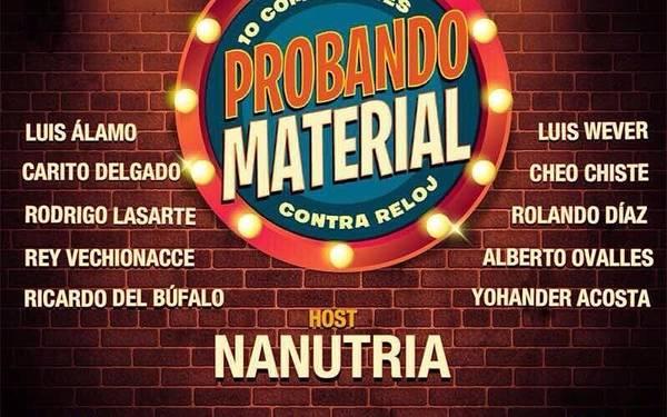 #ProbandoMaterial para reírnos hasta llorar.