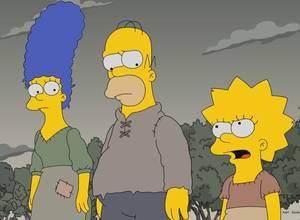 Los Simpsons abrieron su temporada 29 con una parodia a Game of Thrones