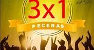 VIERNES DE  3 X 1  EN PECERAS