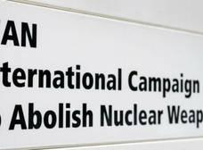 La campaña para abolir las armas nucleares ganó el Premio Nobel de la Paz