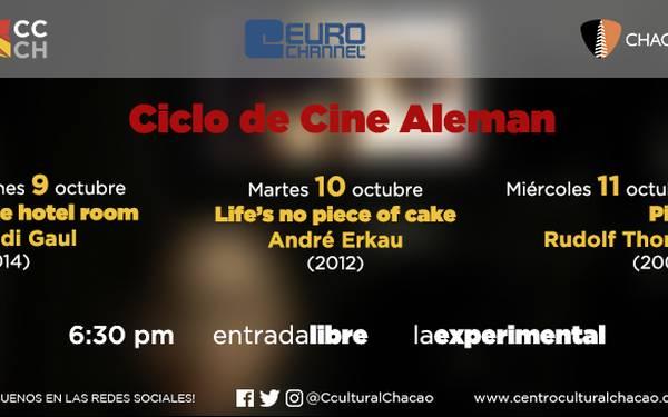 CICLO DE CINE ALEMAN