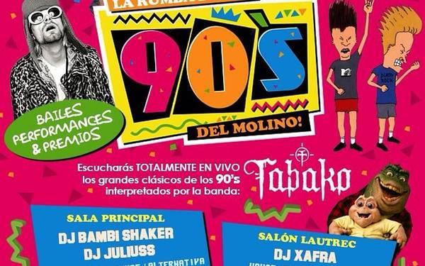 LA RUMBA DE LOS 90s DEL MOLINO