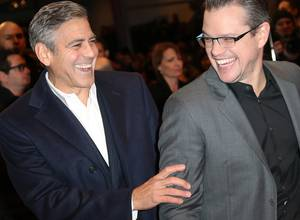George Clooney y Matt Damon hablan sobre el escándalo sexual de Harvey Wenstein