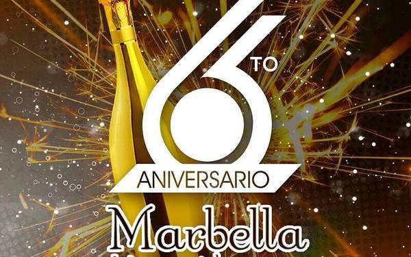 6TO ANIVERSARIO DE MARBELLA DISCO