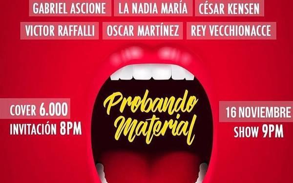 PREPÁRATE PARA EL JUEVES DE PROBANDO MATERIAL