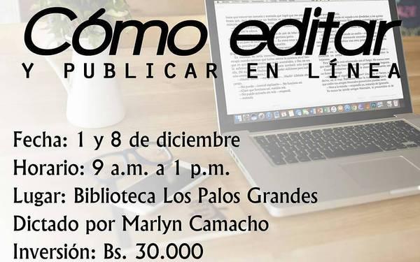 CÓMO EDITAR Y PUBLICAR EN LÍNEA