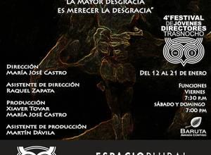 """SATURNO"" INAUGURA EL 4º FESTIVAL DE JÓVENES DIRECTORES DEL TRASNOCHO CULTURAL"""