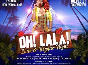 OH! LALÁ! LATIN & REGGAE NIGHT- EL MOLINO