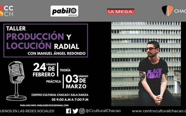 TALLER DE PRODUCCIÓN Y LOCUCIÓN RADIAL
