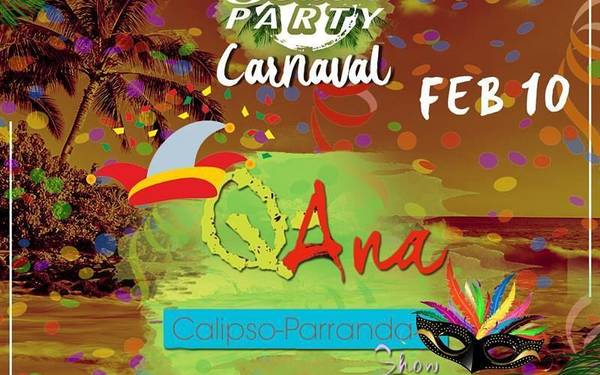 CARNAVAL+PLAYA - BEACH PARTY