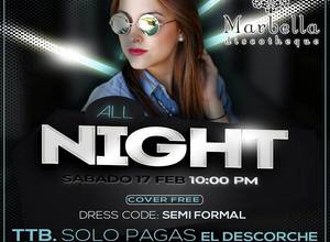 ALL NIGHT - MARBELLA DISCO