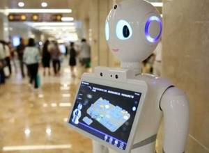 Un médico-robot comienza a tratar pacientes en un hospital de China