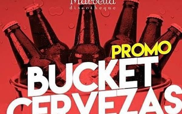BUCKET DE CERVEZAS - MARBELLA DISCO