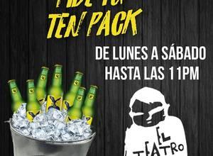TEN PACK - EL TEATRO BAR