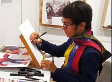 Oscar Olivares talento artístico ganador del Mara de Oro