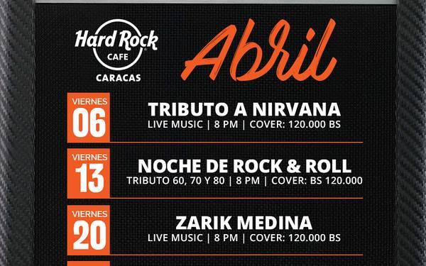 AGENDA - HARD ROCK CAFÉ