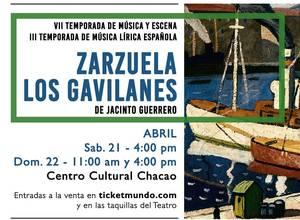 Zarzuela Los Gavilanes