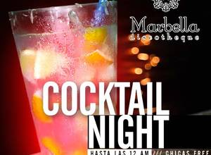 COCKTAIL NIGHT CHICAS FREE
