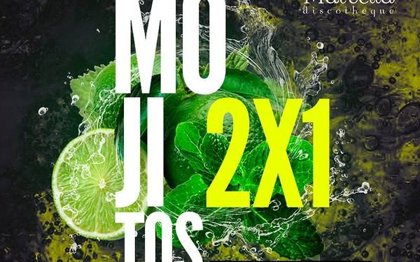2 X 1 DE MOJITOS