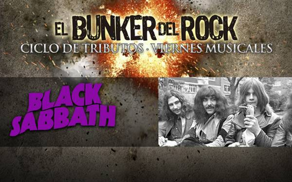 CICLO BUNKER DEL ROCK- TRIBUTO A BLACK SABBATH